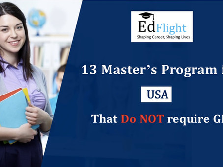 13 Master's Program in USA That Do NOT Require GRE