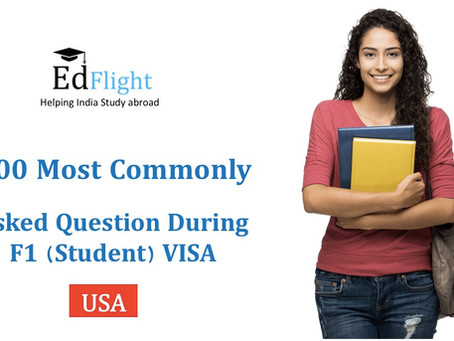 100 Most Commonly Asked Interview Questions During F1 Visa Interview