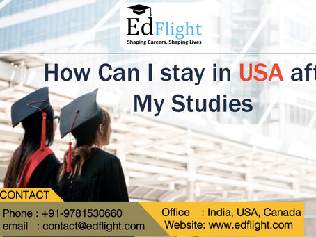 How Can a F1 Student Stay in USA after Completion of a Course?