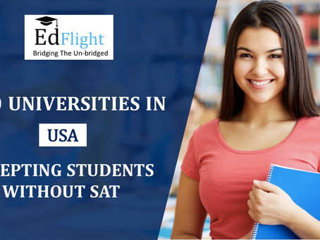 10 Universities in USA accepting students without SAT