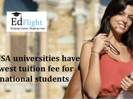 Study in USA In a University With Lowest Tuition Fee