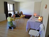 salle de massage, yoga
