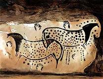 Dessins dans la Grotte de Pech-Merle