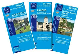 Cartes IGN de la région