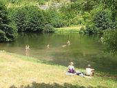 La baignade Marcilhac-sur-Célé