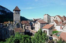 L'abbaye de Marcilhac