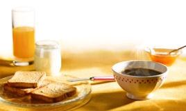 petit déjeuner Galance