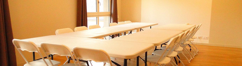 Salle de réunions et d'activités