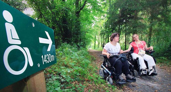 Accueil des personnes à mobilité réduite