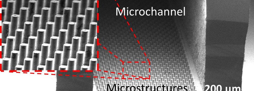 microfluidic heat sinks