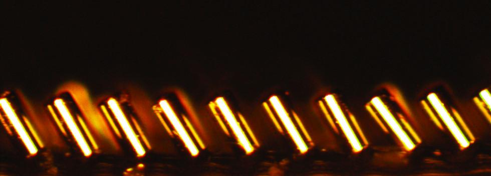 dynamically tunable micropillars