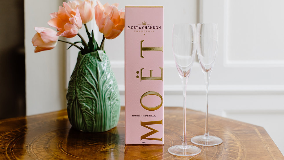 Moet & Chandon Brut Rose Imperial Gift Boxed Champagne 75cl