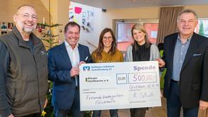 Bürger Glattbachs spenden 500 Euro für Freundekindergarten
