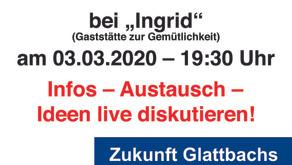 Einladung zum Politischen-Stammtisch am 03.03.2020