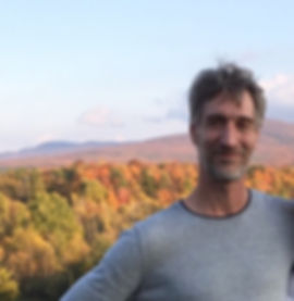 Chris Freeman, mountain man in Sutton, Quebec