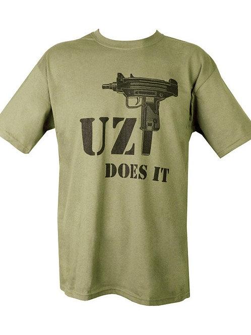 UZI Does It Printed T Shirt