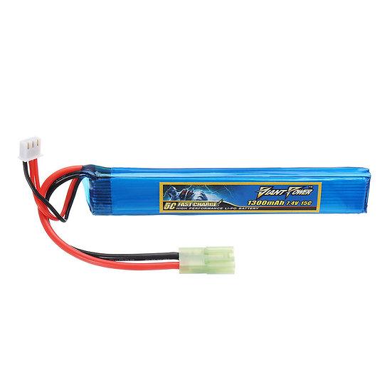Giant Power 1300mAh 7.4V LiPo Stick Battery Pack