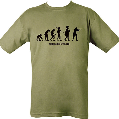 Evolution Of Men Printed t Shirt