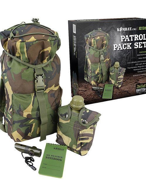 Kids Patrol Pack Set - DPM