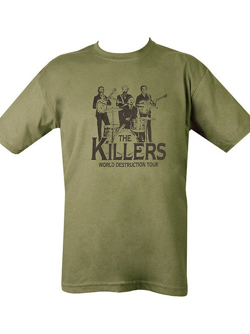 The Killers Printed T Shirt