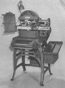 1950's U.S. Military Stamping Machine