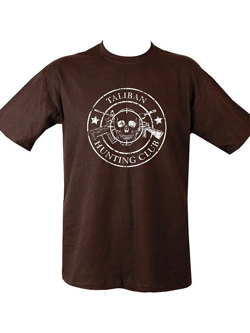 Taliban Hunting Club Printed T Shirts