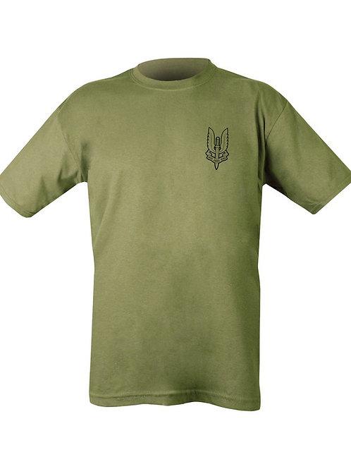 SAS Printed T Shirt.