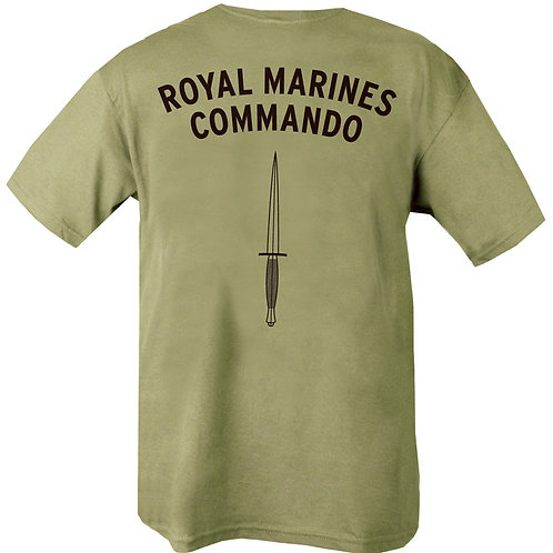 Royal Marines Commando Printed T Shirt