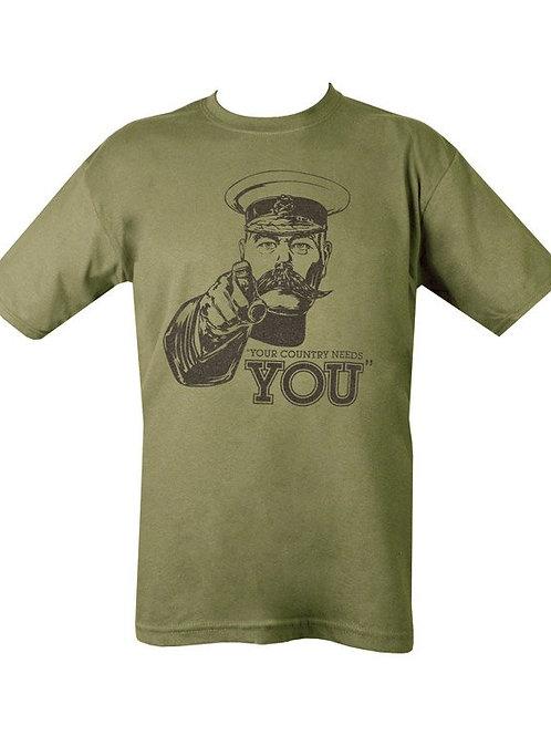 Kitchener Printed T Shirt