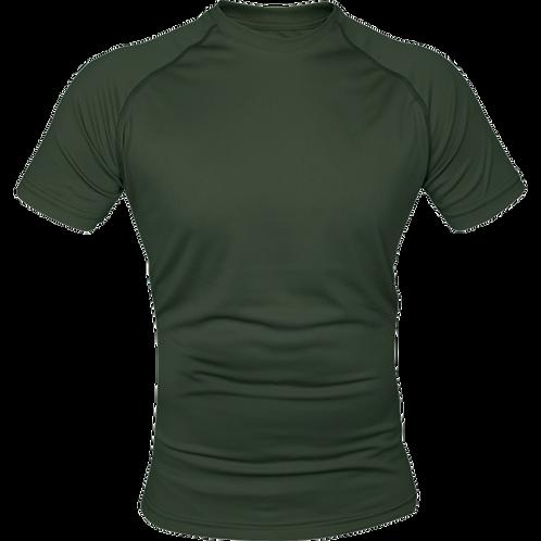 Viper Mesh-tech T-Shirt- Olive Green