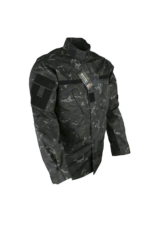 Black BTP Assault Shirt - ACU Style