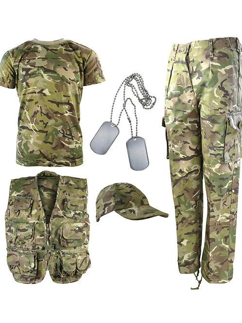 Kids Camouflage Explorer Army Kit - BTP