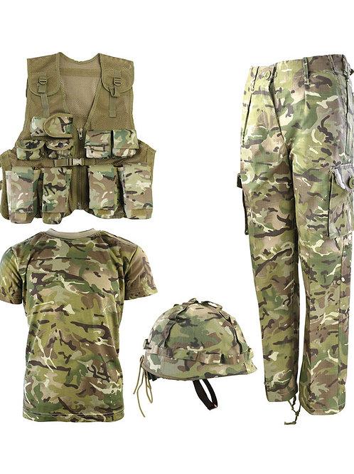 Kids Number 1 Army Combo Set - BTP Black