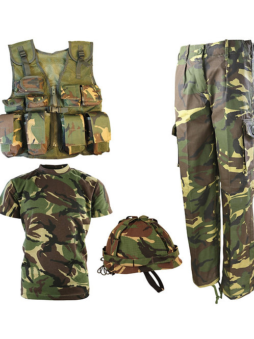 Kids Number 1 Army Combo Set - DPM