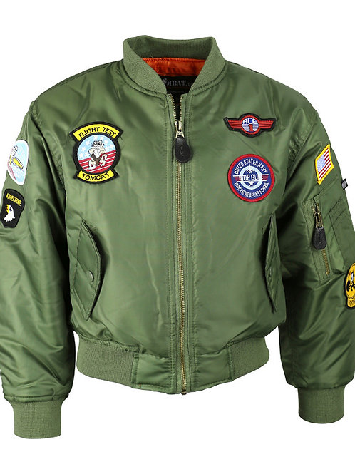 Kids MA1 Flying Jacket.