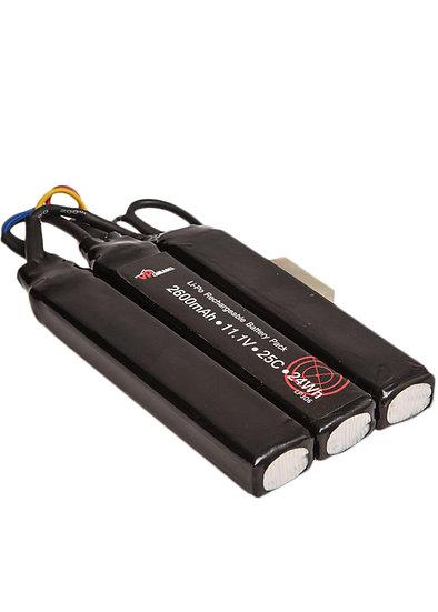 VP Racing 11.1v 2600 mAh 25C 24Wh Li-Po Rechargeable Battery Pack