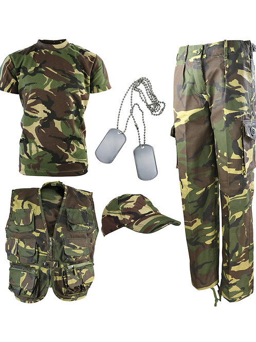 Kids Camouflage Explorer Army Kit - DPM