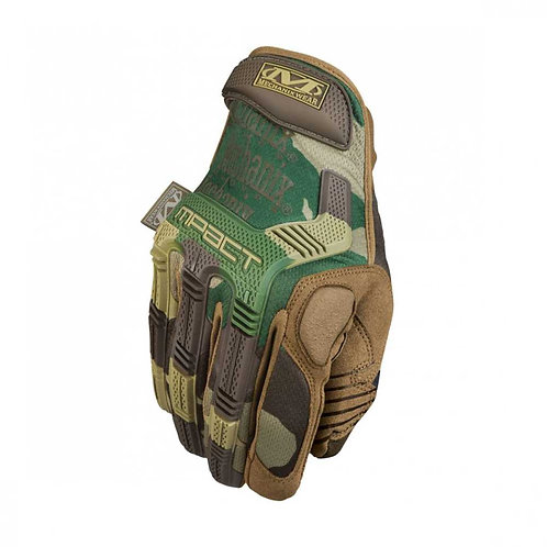 Mechanix M-Pact Gloves - Tactical Woodland Camo