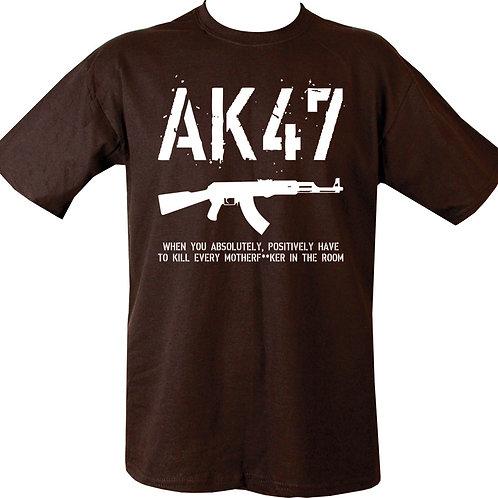AK47 Printed T shirt 3Colours
