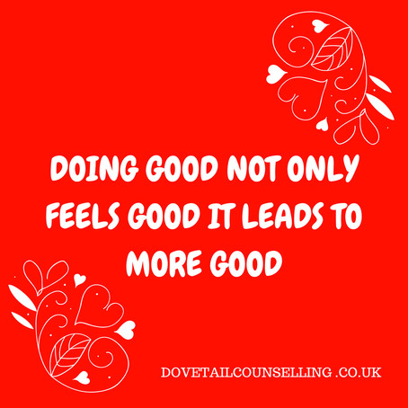 How Doing Good Does You Good