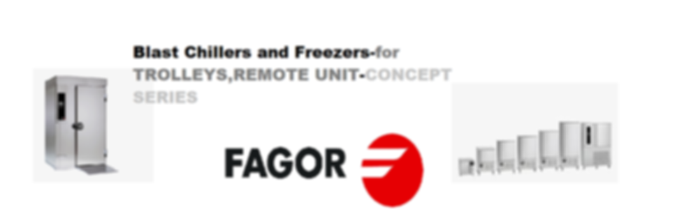 Fagor Blast Chillers and Freezers