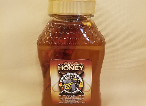 Chile Pepper Infused Honey-8oz