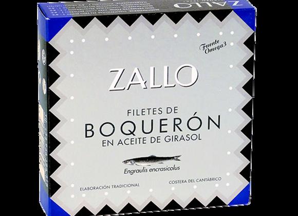 Filets d'anchois Boquerones à l'huile 170GR Zallo