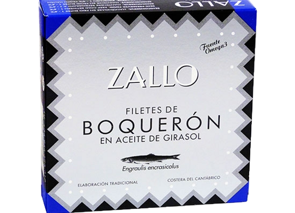 Filets d'anchois  Boquerones à l'huile 500GR Zallo