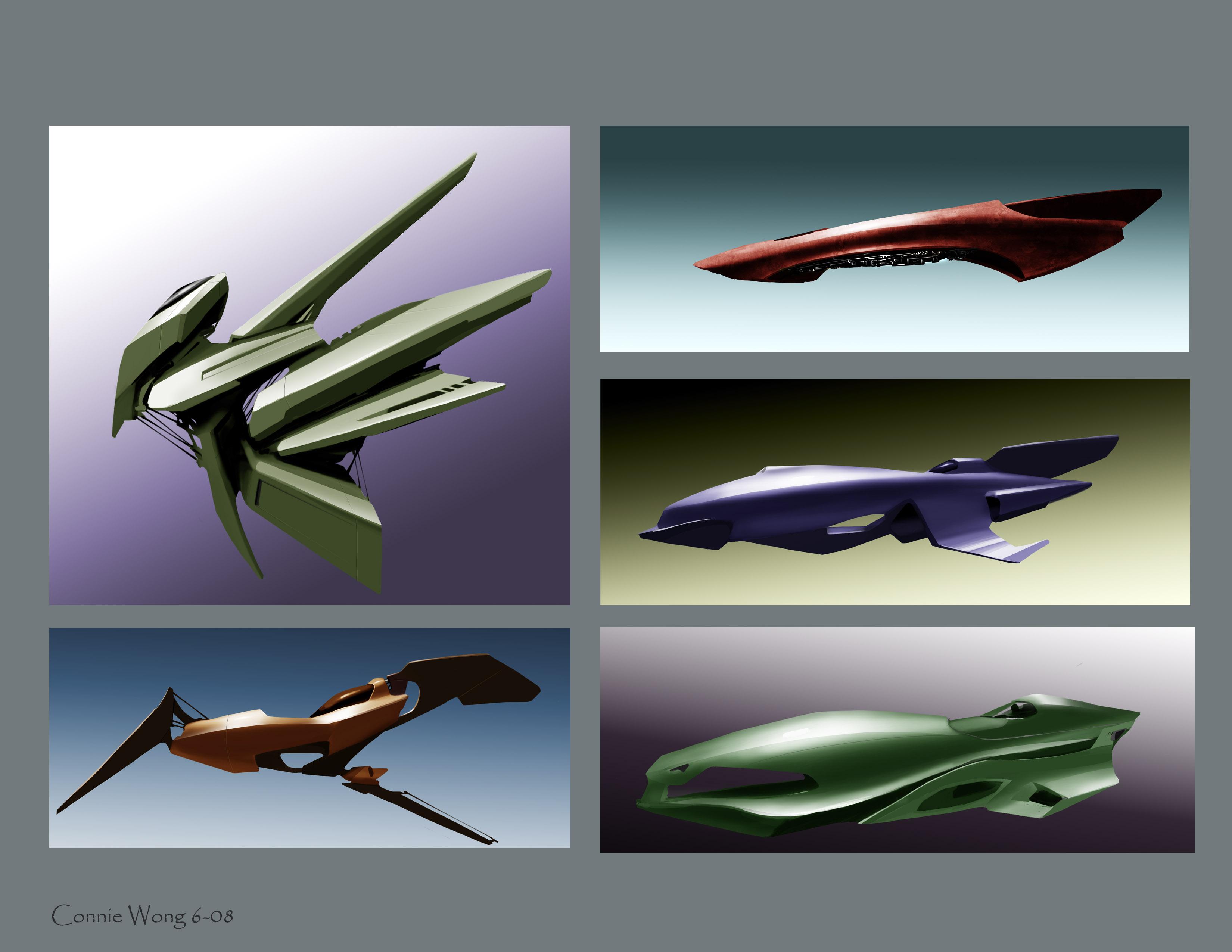 space ship designs