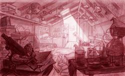 background design, child's bedroom
