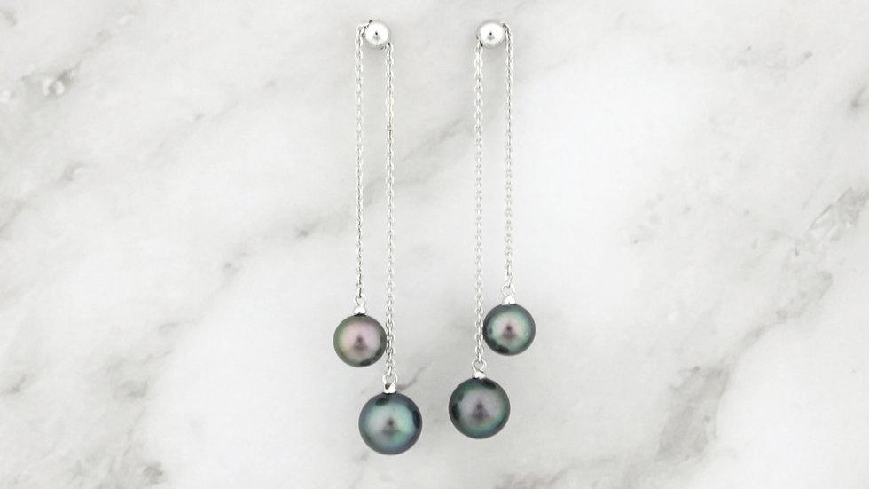 925 Silver Freshwater Pearl Earrings
