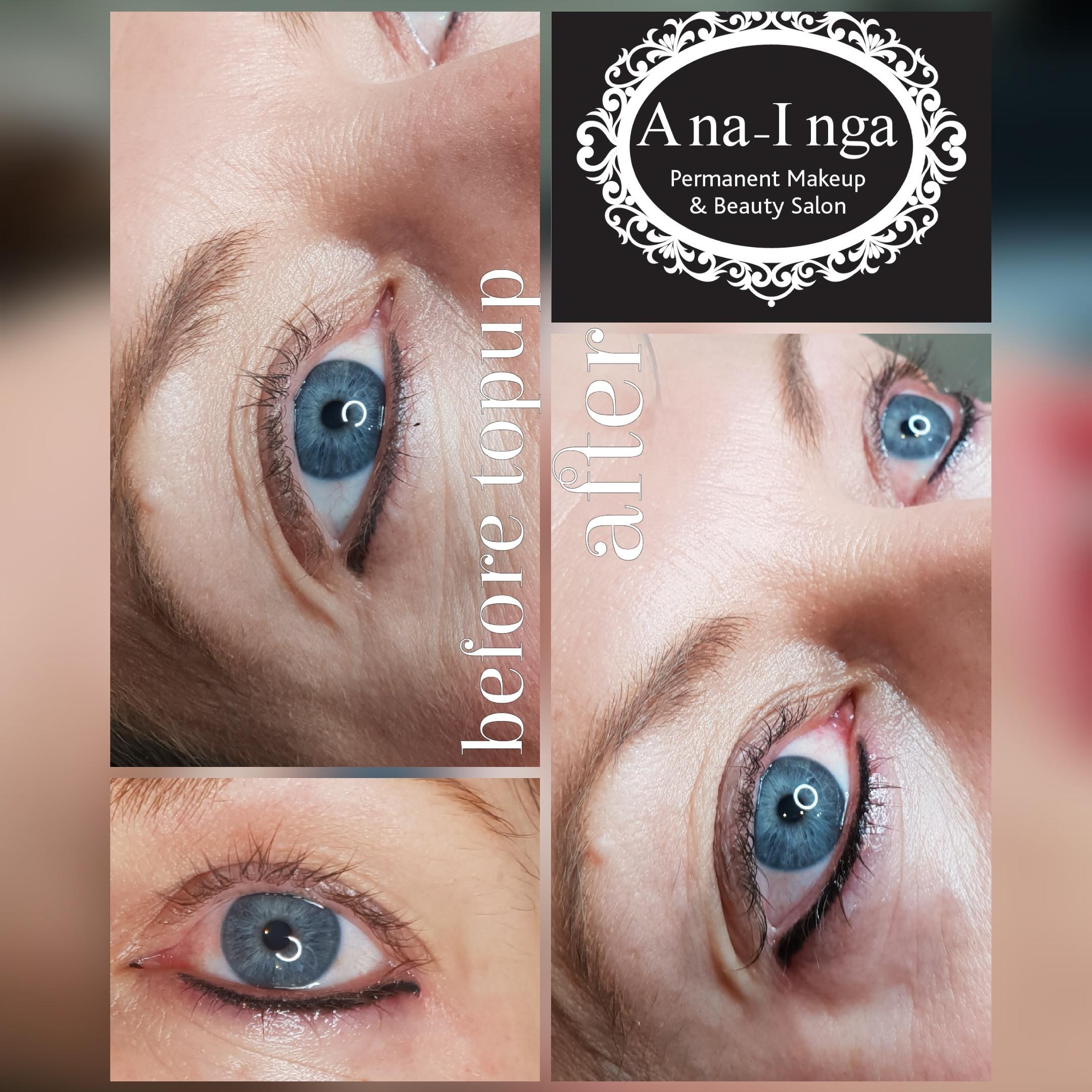 Lower lash eyeliner