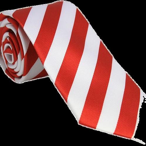 Red & White Tie