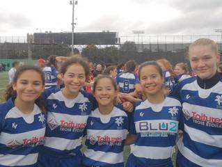4 NDG Junior girls selected to Quebec u16 provincial team: Fiona, Brenna, Arianne, et Josephine!